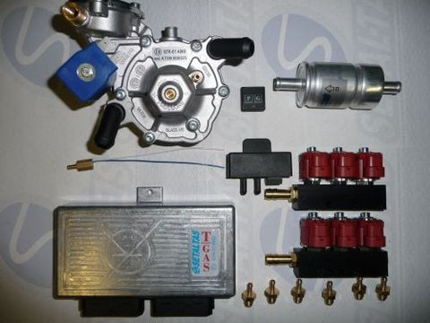 Mini kit T-Gas 6 cil. komplektas