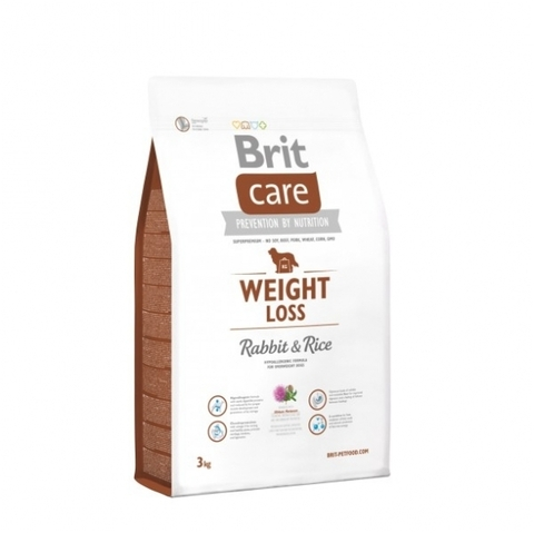 Šunų maistas Brit Care weight Loss Rabbit & Rice