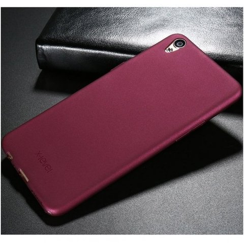 xiaomi redmi note 5a prime DĖKLAS X-LEVEL GUARDIAN SILIKONINIS 0,6MM bordo