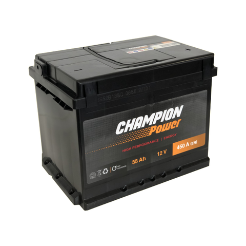 Akumuliatorius Champion Power 55AH 450A