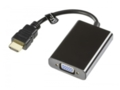 Keitiklis HDMI A M į VGA F, audio 3.5mm (F)
